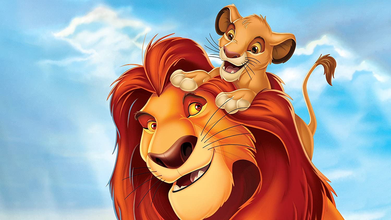 Posterhouzz The Lion King Simba Mufasa Movie Wall Poster