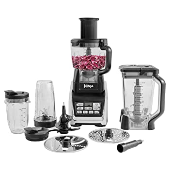 Ninja BL682UK2 1500W Food Processor with Nutri Auto-iQ: Amazon co uk