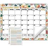 "CRANBURY Large Wall Calendar 2021-2022 (Floral), 12x15"", Use Now to December 2022, 15x12 Calendar 2022, 12 x 15 Flower Calend"