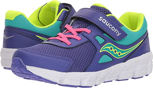 Saucony Kids Girl s Vortex A C (Big Kid) Purple Citron 3.5 W 9a0448f30