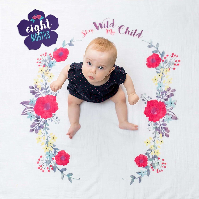 Lulujo Babys 1st Year Stay Wild My Child Gift