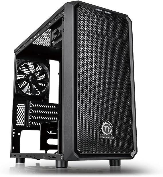 Thermaltake Versa H15 Win - Caja de Ordenador, Color Negro: Amazon.es: Informática
