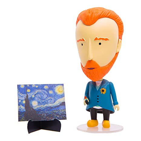 Today Is Art Day - Famous Painters and Artists Action Figure Dolls - Van  Gogh - PVC - 5
