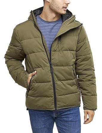 36434473f0d17d mazine Trenton Puffer Jacket - Herren Streetwear - Winterjacke - Farbe   Olive - Grösse S