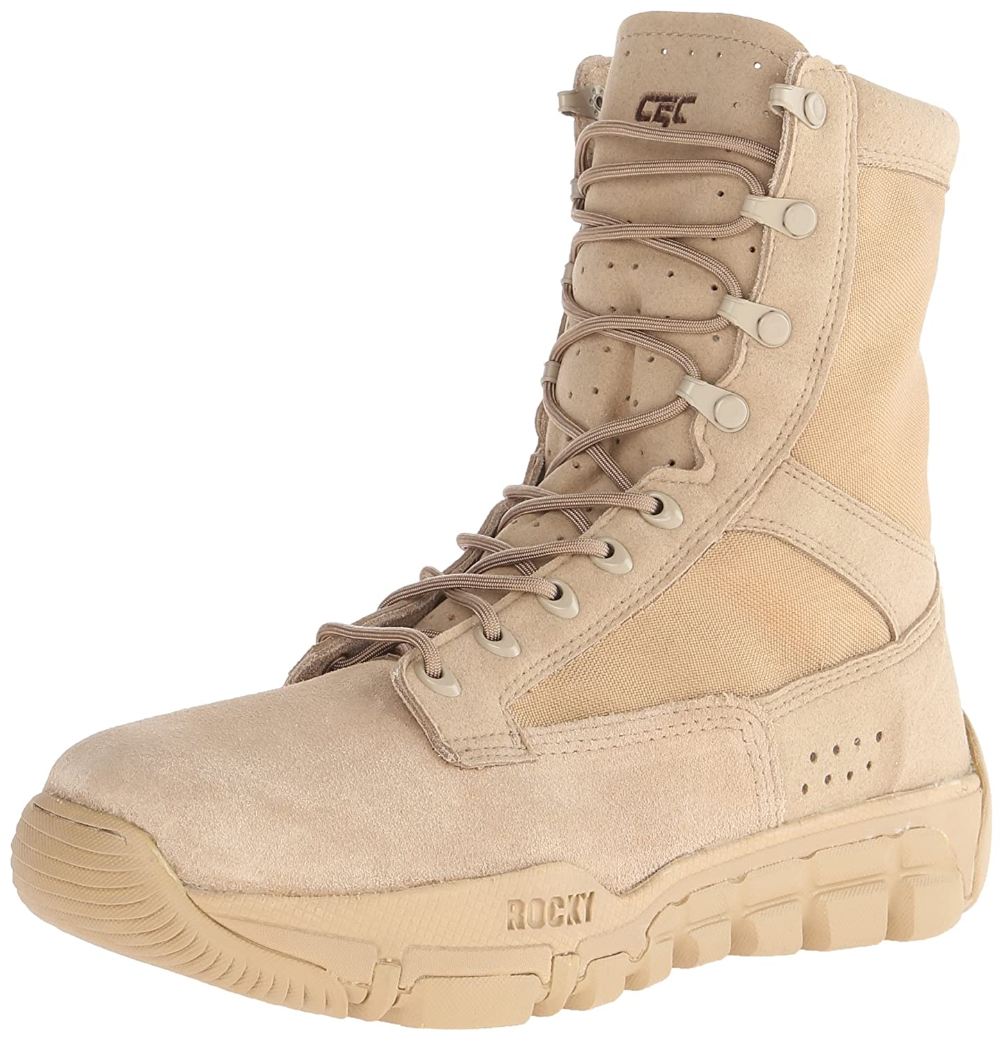 Amazon.com | Rocky C5C Commercial Military Boot | Industrial ...
