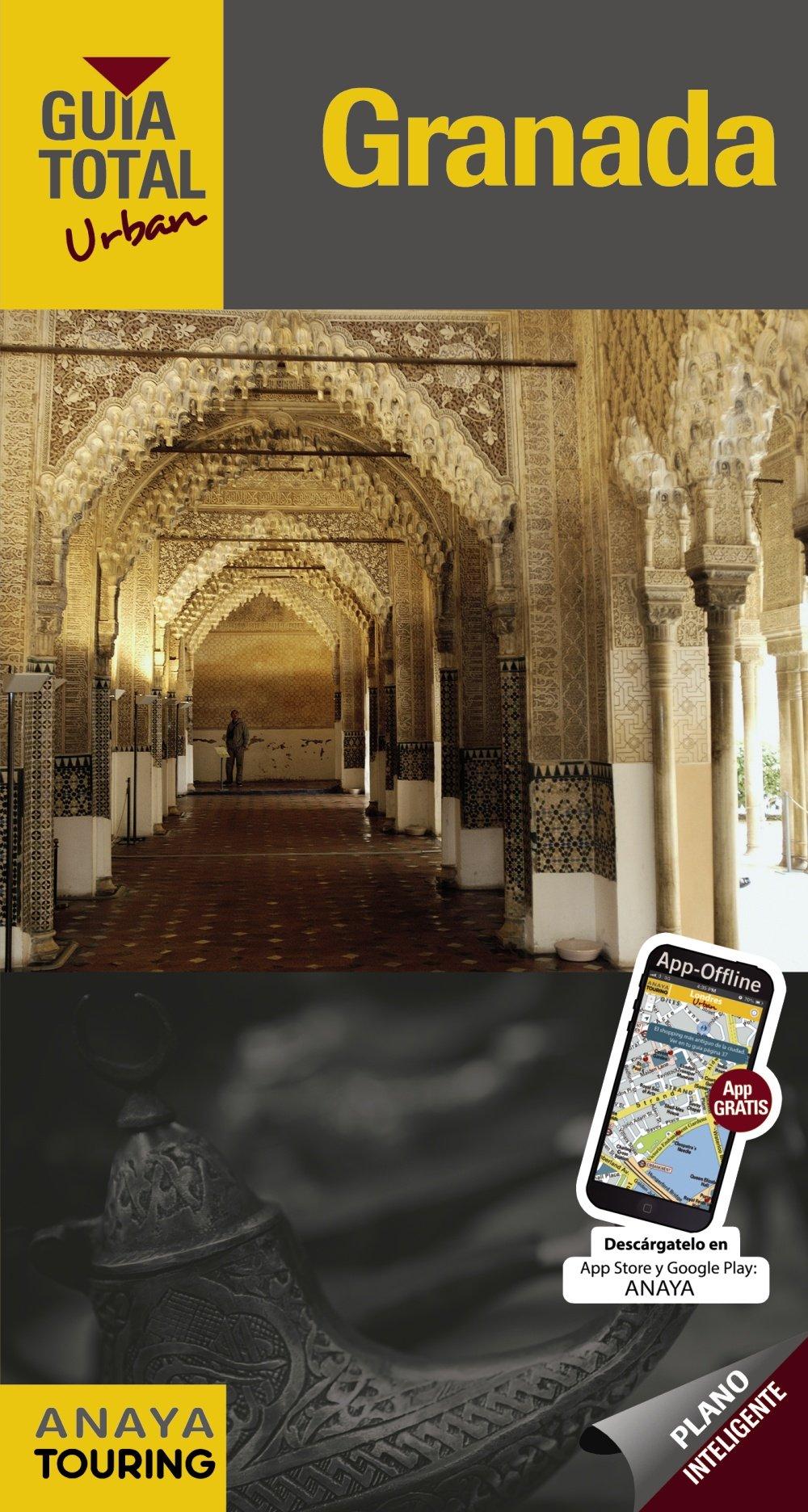 Granada (Urban) (Guía Total - Urban - España): Amazon.es: Anaya Touring, Arjona Molina, Rafael, Wals, Lola: Libros