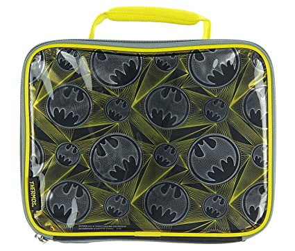98b982658ef9 Image Unavailable. Image not available for. Color  Thermos DC Comics Batman  Signal Soft Lunch Kit