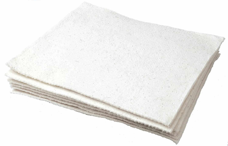 Oil Eater AOA-NBRM200-WHITE 28 x 150 Woven Medium Weight Oil Absorbent Pad