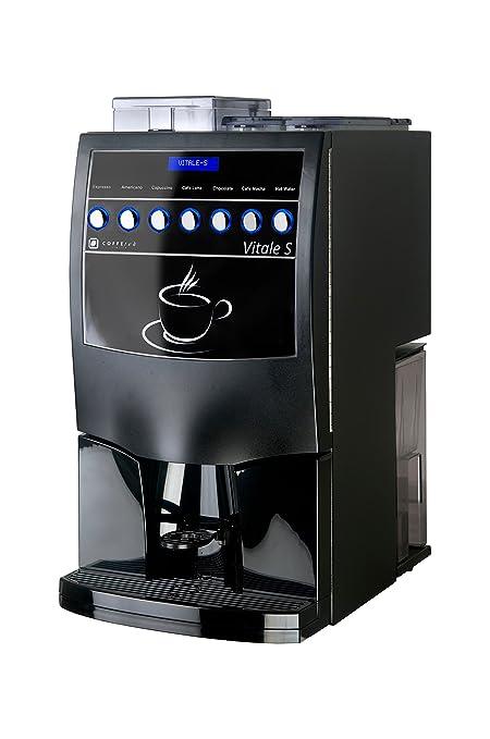 Coffetek Vitale - Máquina de café expreso (expreso, café con leche, capuchino y chocolate caliente) ideal para tu oficina, tienda, pub, club: Amazon.es: ...