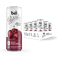 Bai Bubbles, Sparkling Water, Bolivia Black Cherry, Antioxidant Infused Drinks,...