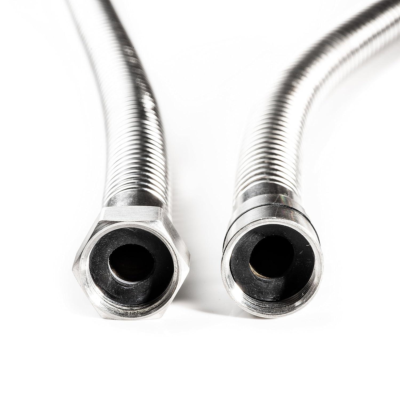 Elerose R134a Car Air Conditioner Refrigerant Recharge Hose Recharge Hose Gas Can Fitting Pipe for R502 R-12 R-22 Refrigerant