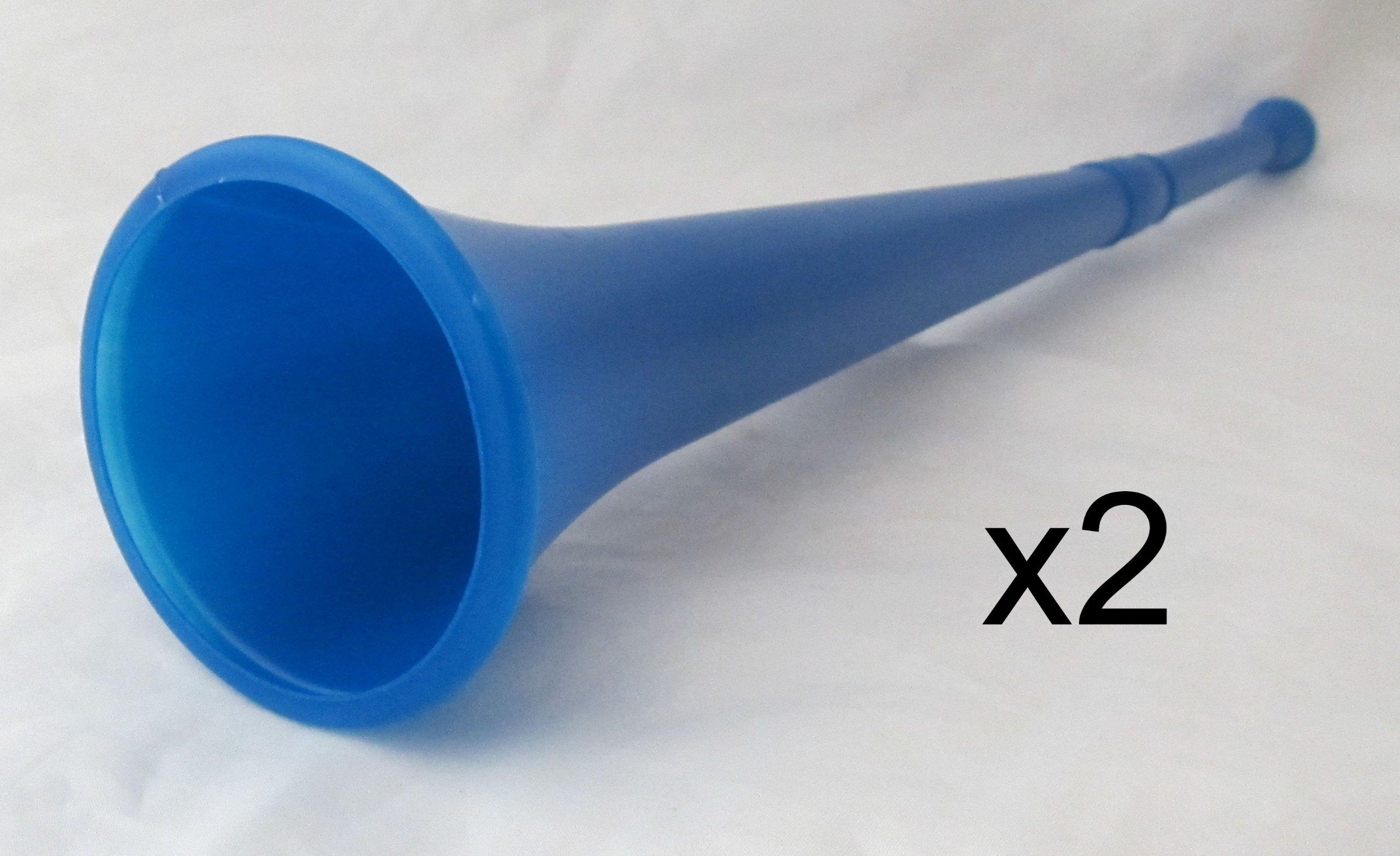 (LOT OF 6) 19 Stadium Horn For Sports Games Vuvuzela Noise Maker - 6 Horns by ROCKYMART by ROCKYMART