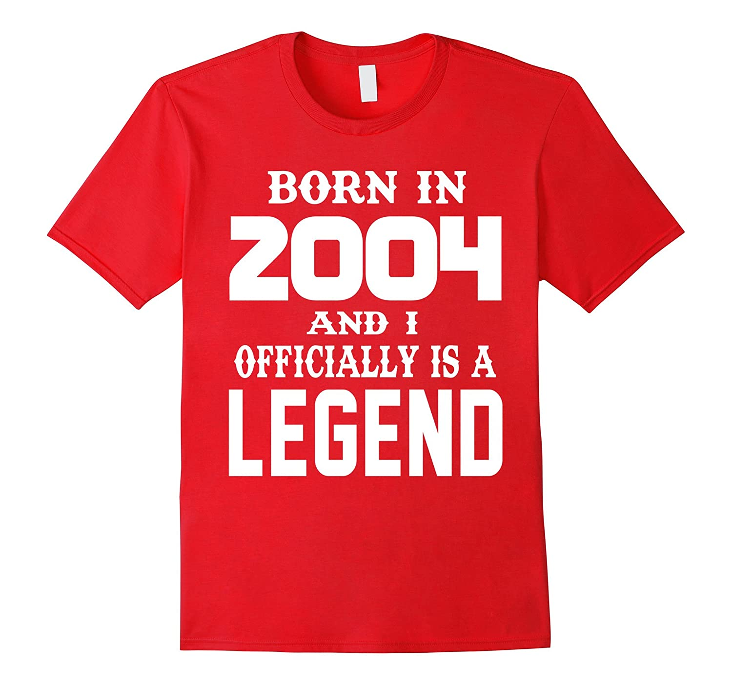 13 years old Boy 13th Birthday B-day Gift Legends 2004 Tee