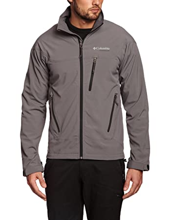 f9d91c408c846 Columbia A-Line Waypoint Mens Softshell Jacket - Charcoal, Small ...