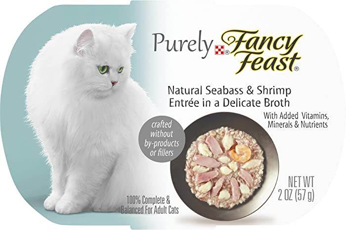 Top 9 Purely Fancy Feast Cat Food