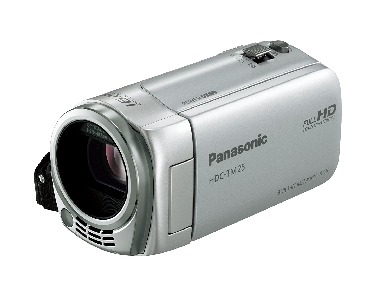 【ギフ_包装】 パナソニック 内蔵メモリー8GB デジタルハイビジョンビデオカメラ HDC-TM25-S TM25 内蔵メモリー8GB シルバー HDC-TM25-S シルバー TM25 B004JKNDNI, 立花町:38407e79 --- vanhavertotgracht.nl