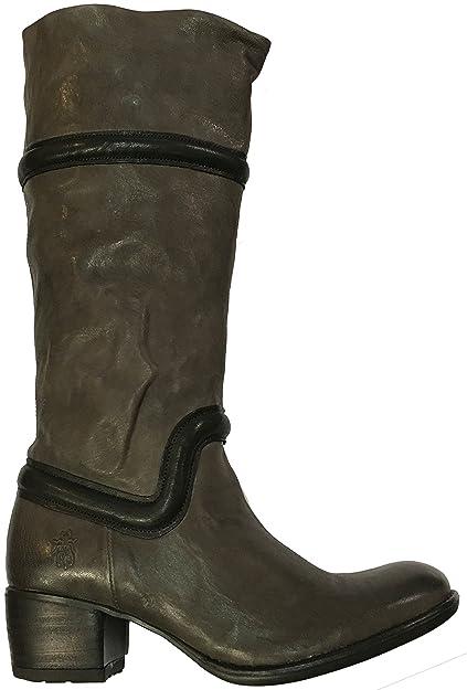 f0505c95 Fly London Jinzi Grey Black Ladies Boots (EU36 UK3): Amazon.co.uk: Shoes &  Bags