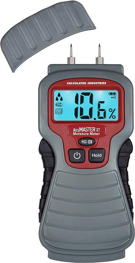 Damp Digital Wood Moisture Meter Backlight Display For Detecting Firewood Leaks