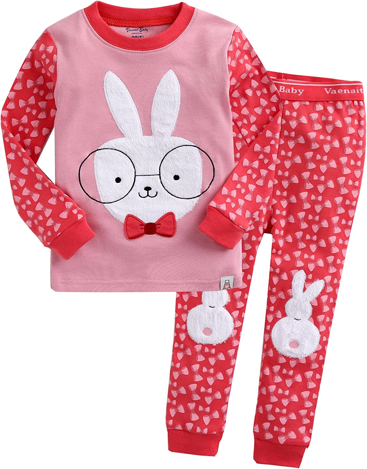 Vaenait Baby 12M-12 Years Girls Boys 100/% Cotton Pyjama Sleepwear Set Flower Gifts Printed Nightwear Pyjamas Night pjs