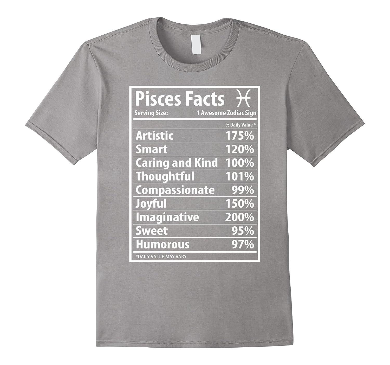 Zodiac Cd Funny Color Lucky Pisces Shirt Facts T PXOuZki
