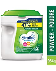 Similac Advance Step 2 Non-GMO Baby Formula, Powder, 964g, 6-24 Months, Green