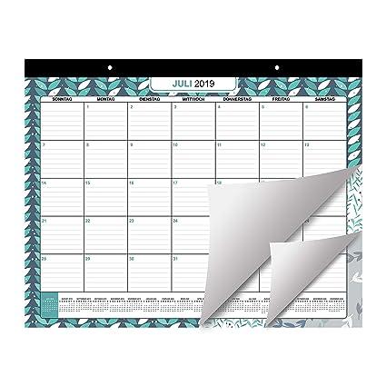 Calendario de Mesa 2019/2020 por Belle Vous | Planificador ...