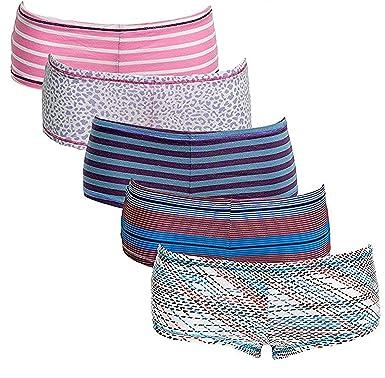 98af094b0a70 Emprella Women's Knickers Boyshort Panties Multipack Comfort Ultra-Soft  Cotton Underwear (6-Pack