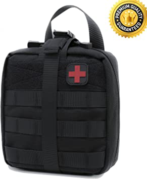 Tactical MOLLE EMT Medical Utility First Aid Kid Medical Accessory Bag Pouch