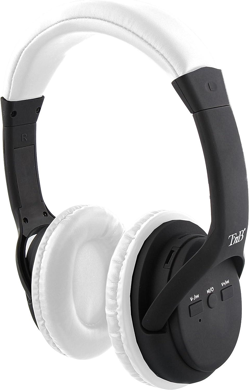 Auriculares 2 en 1 de Color Blanco: Inalámbricos y con tecnología con Bluetooth Wireless - Compatible con Cualquier Dispositivo electrónico.