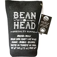 Bean Head #1 Canadian Organic & Mould Free Coffee, Ground