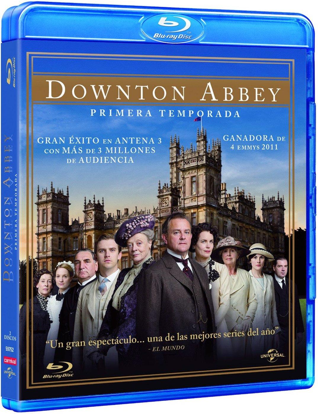 Downton Abbey - Temporada 1 [Blu-ray]: Amazon.es: Hugh ...