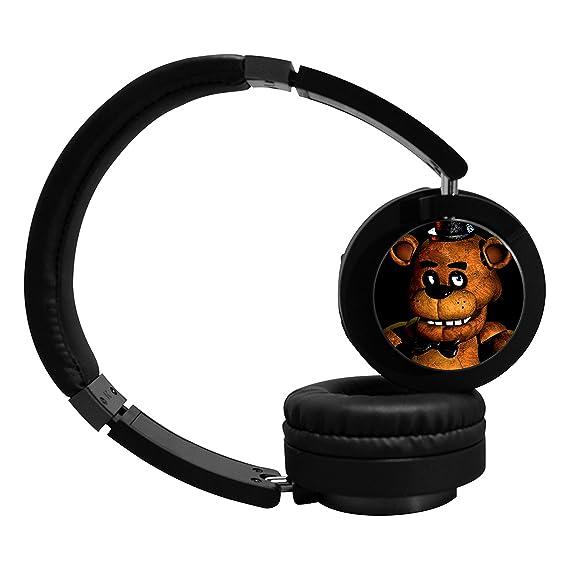 ada-boom FNAF Cool Bluetooth auriculares auriculares de, suave memory-protein orejeras,