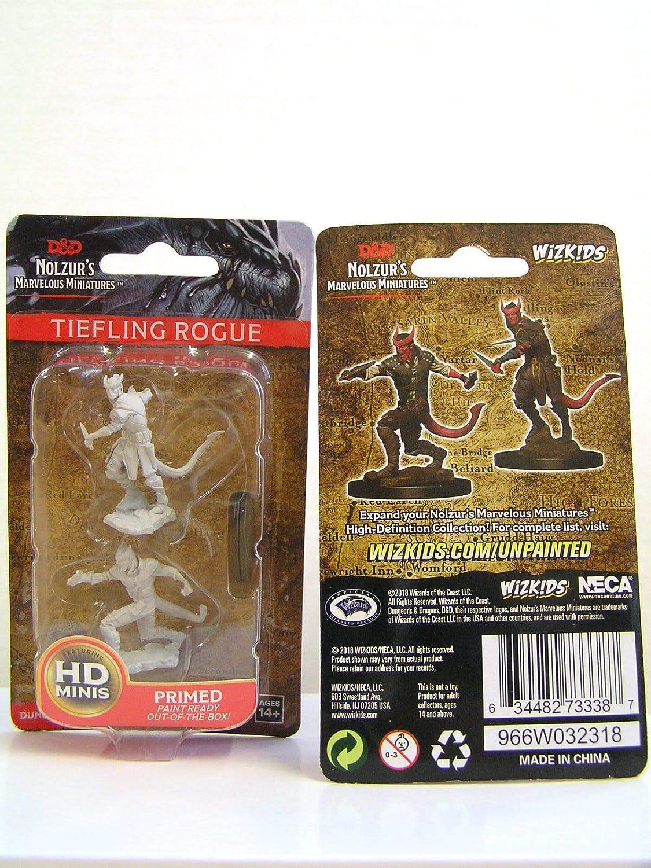 Tiefling Male Rogue D/&D WZK73338 Nolzurs Marvelous Wave 5 Unpainted Miniatures