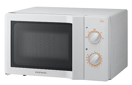 Daewoo KOG-6L67 Encimera 20L 1100W Color blanco - Microondas (295 x 303 x 194 mm)