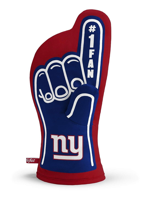 YouTheFan NFL #1 Oven Mitt:13.25'' x 6.5'' Heat Resistant 100% Quilted Cotton Team Oven Mitt