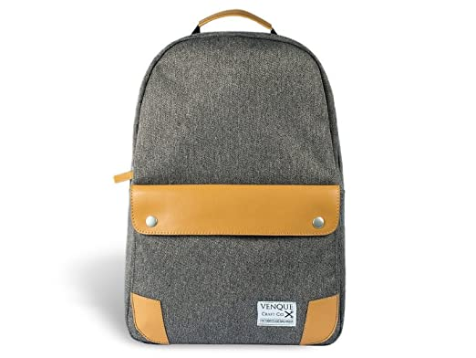 a66e87781b80 Venque Craft Co. The Classic Backpack (Grey)