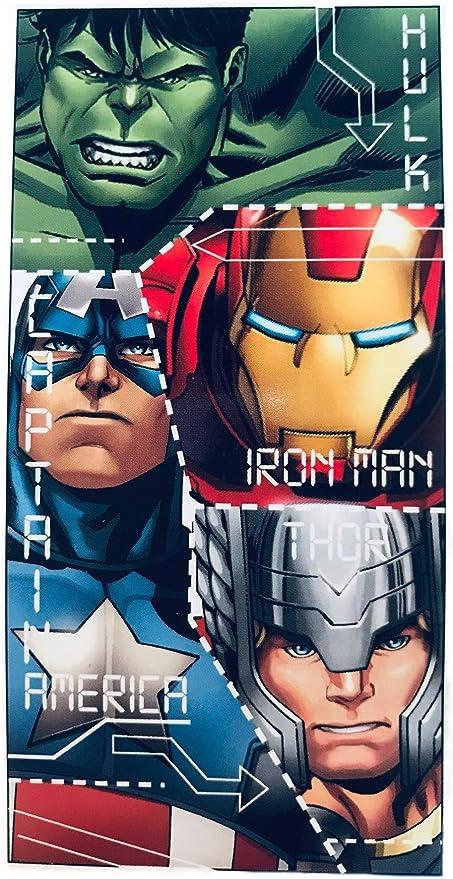Toalla Los Vengadores Marvel microfibra