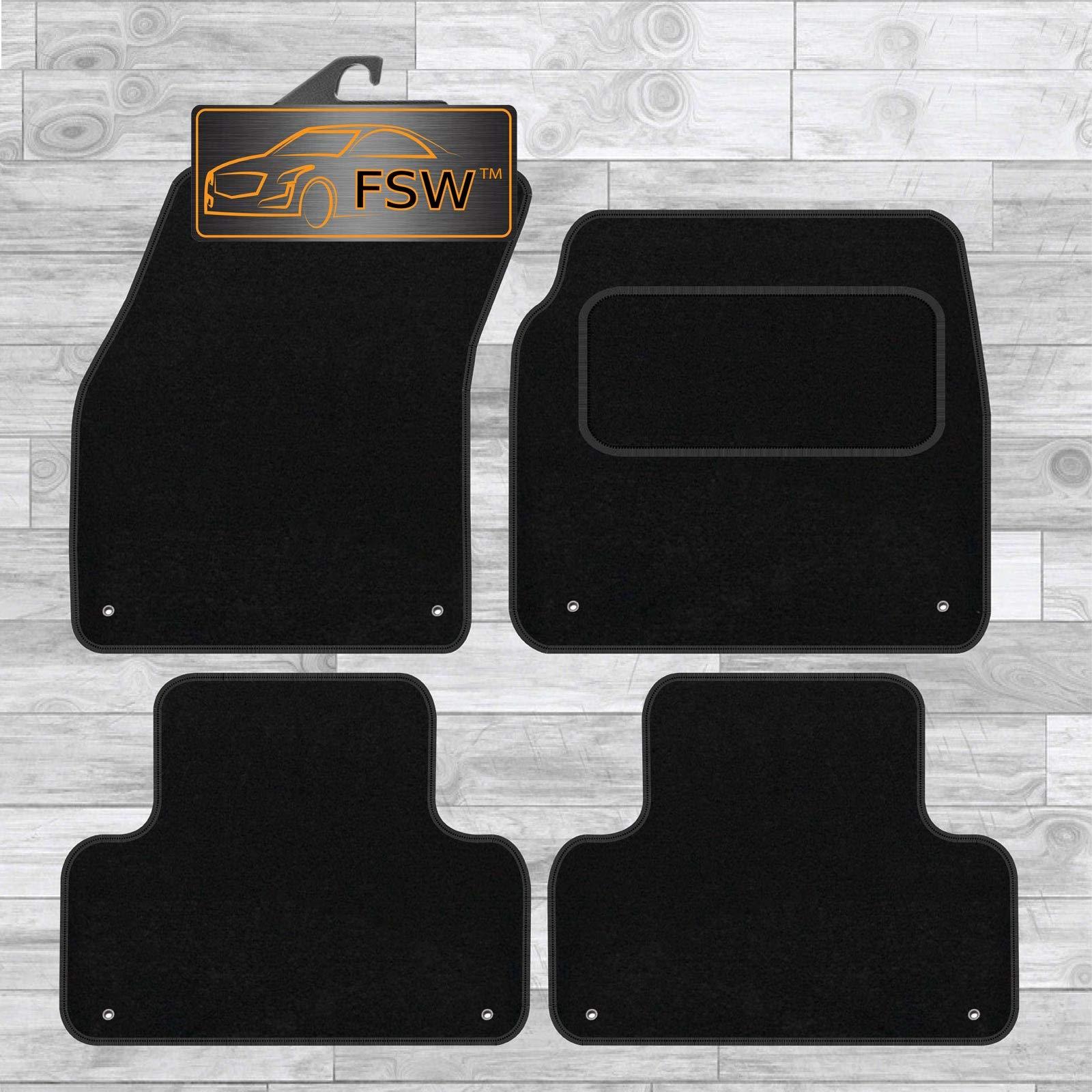 FSW Evoque 11-13 Tailored Carpet Car Floor Mats Black