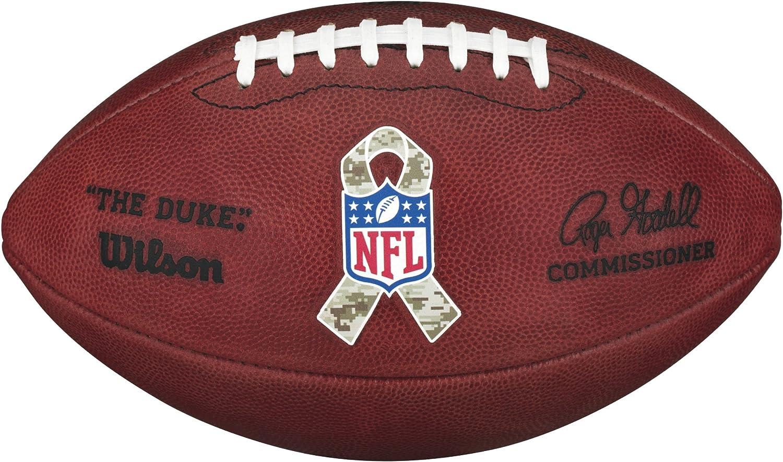 Wilson - Balón de fútbol Americano, WTF1100IDSTS, Camuflaje ...