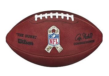 Wilson The Duke NFL - Balón de fútbol: Amazon.es: Deportes y aire ...