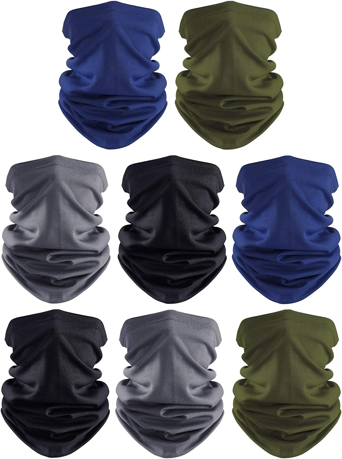 Northwest Los Angeles Rams Seamless Mask Neck Gaiter Windproof Scarf Sunscreen Breathable Bandana Balaclava For Outdoors