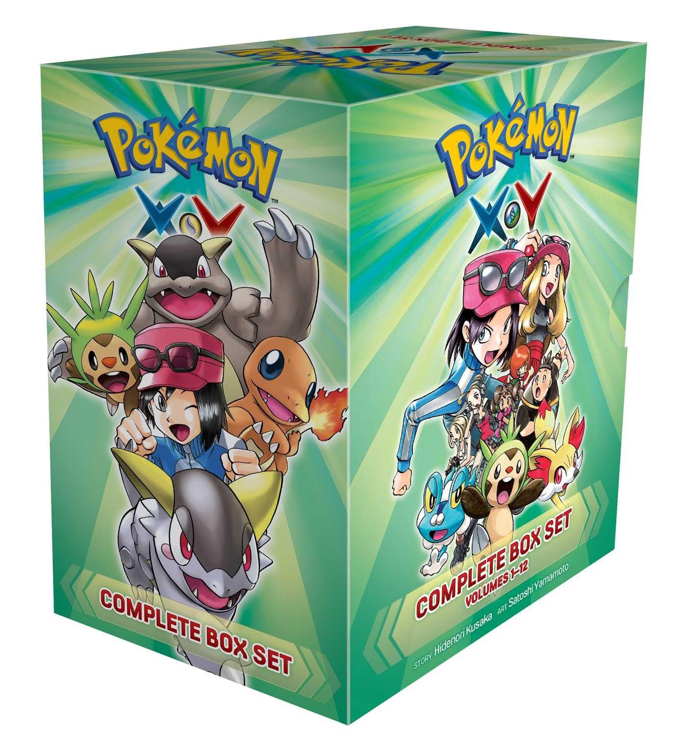 Pokémon XY Complete Box Set: Includes vols. 1-12 (Pokemon)