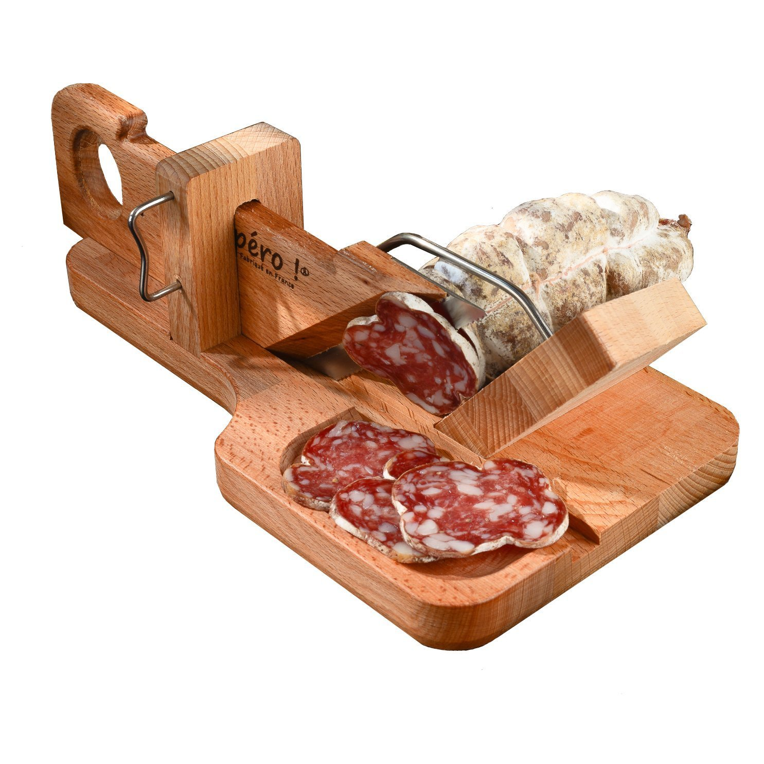 So Apéro - Guillotine à Saucisson - l'Originale - Fabrication 100% Française - L'authentique guillotine à saucisson conçue en Savoie product image