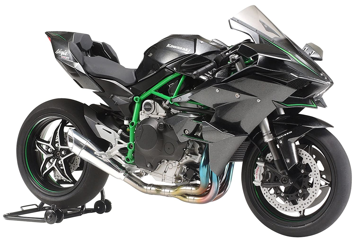 Amazon.com: Tamiya 1/12 Motorcycle Series No.131 Kawasaki Ninja H2R