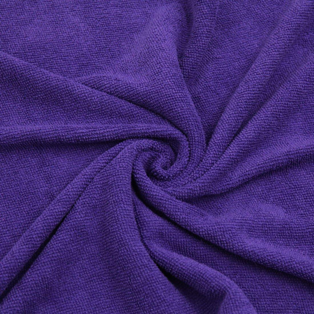 Amazon.com: eDealMax 3pcs 250GSM 65 x 33cm Toalla de Lavado Rojo púrpura del Color del café de microfibra Inicio del Cuerpo de coche de limpieza: Automotive