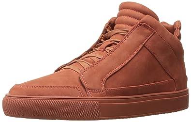 Steve Madden Men's Defstar Fashion Sneaker, Rust Nubuck, ...