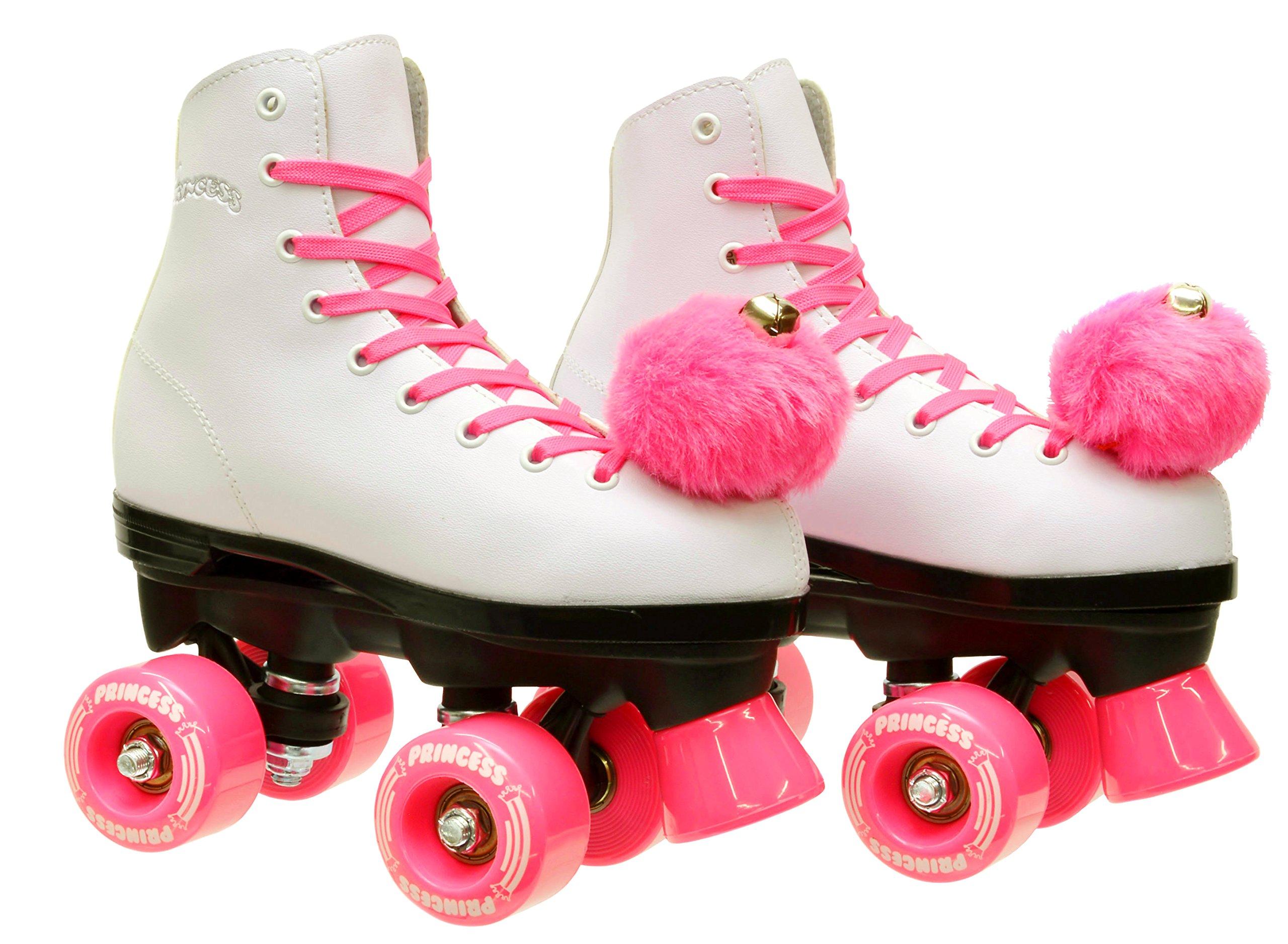 Epic Skates Epic Pink Princess Quad Roller Skates Kids 5 by Epic Skates (Image #3)