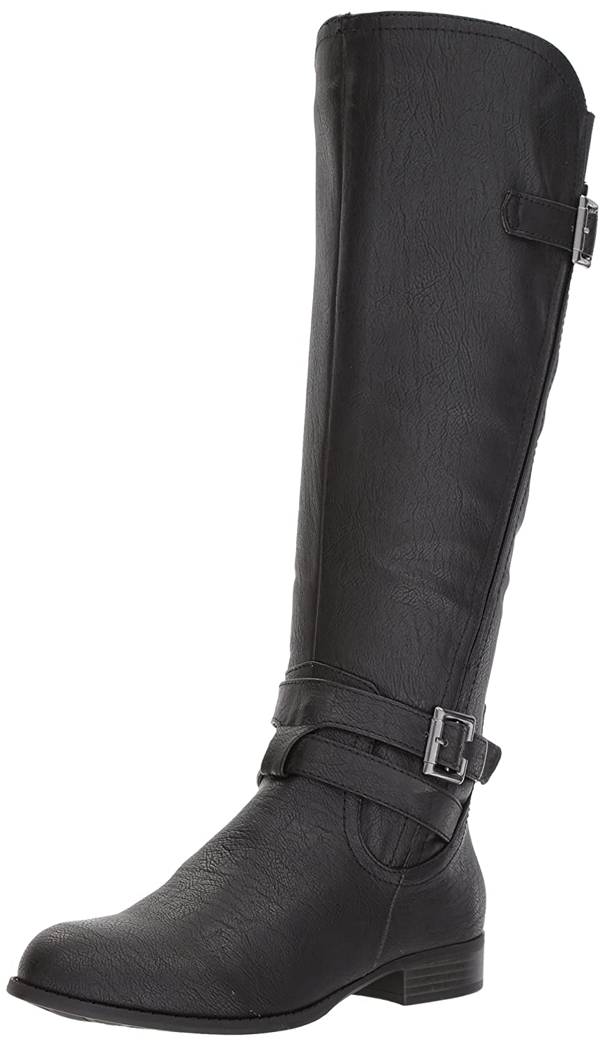 LifeStride Women's Francesca Knee High Boot B075G66RS5 9.5 B(M) US|Black
