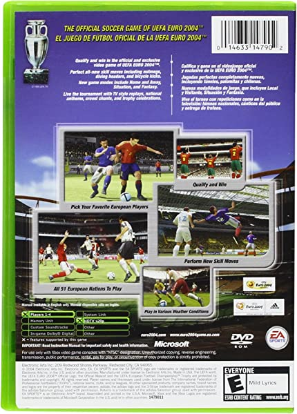 Amazon.com: UEFA Euro 2004 Portugal - Xbox: Video Games