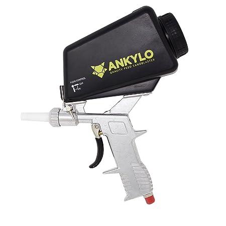 Sandblaster Gun Handheld And Portable Gravity Feed Blaster